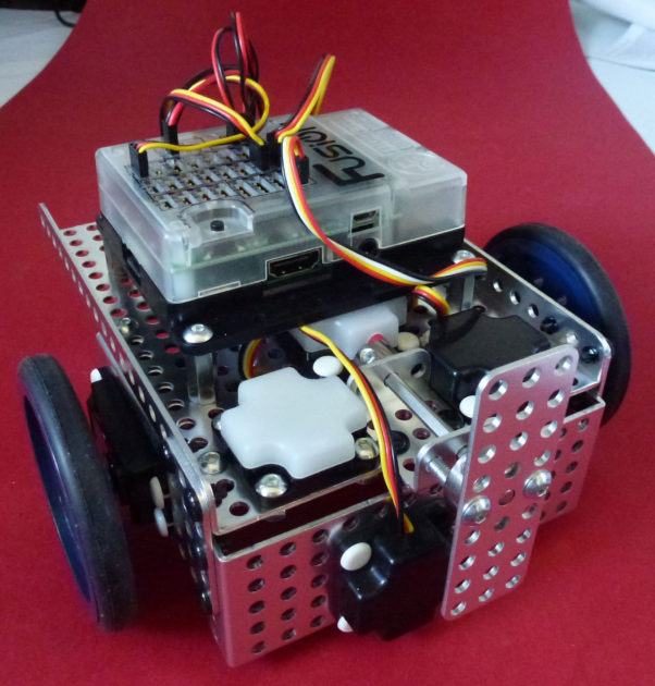 Fusion Robot for Absolute Beginners…