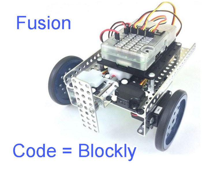 Modern Robotics Fusion Robot Blockly Tutorials