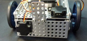 Spartan Robot Two Optical Distance Sensors